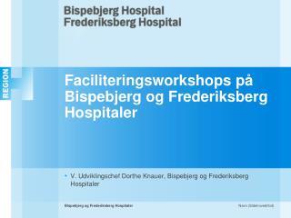 Faciliteringsworkshops på Bispebjerg og Frederiksberg Hospitaler