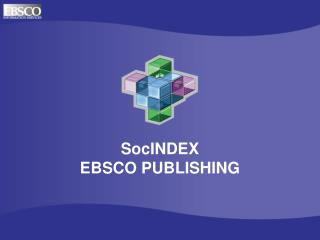 SocINDEX EBSCO PUBLISHING