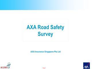 AXA Insurance Singapore Pte Ltd