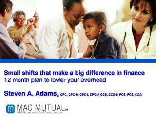 Small shifts that make a big difference in finance 12 month plan to lower your overhead