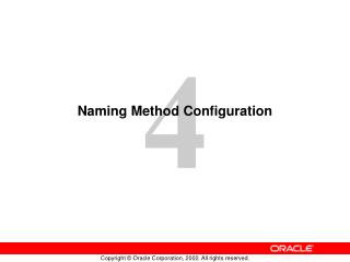 Naming Method Configuration