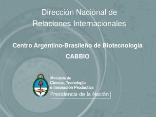 Dirección Nacional de  Relaciones Internacionales