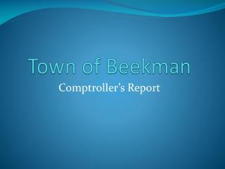 Town of  Beekman
