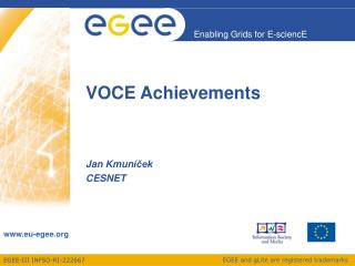 VOCE Achievements