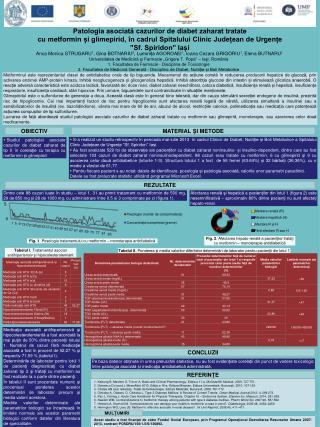 Patologia asociată cazurilor de diabet zaharat tratate