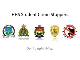 HHS Student Crime Stoppers