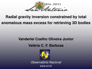 Radial gravity inversion constrained by total anomalous mass excess for retrieving 3D bodies