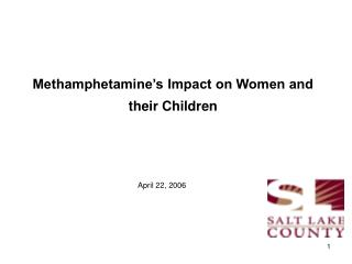 Methamphetamine's Impact on Women and their Children