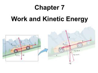 Chapter 7 Work and Kinetic Energy