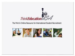 The New International Student  Recruitment Tool