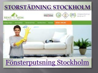 Storstädning Stockholm