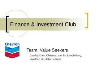 Finance & Investment Club