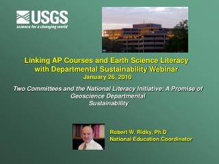 Linking AP Courses and Earth Science Literacy  with Departmental Sustainability Webinar