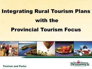 Integrating Rural Tourism Plans with the
