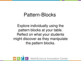 Pattern-Blocks