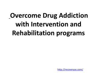 Drug rehab marketing