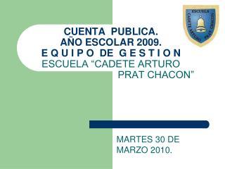 MARTES 30 DE MARZO 2010.