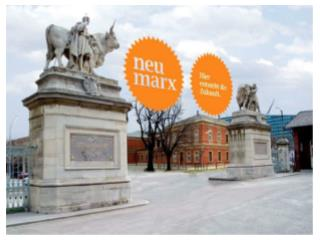 NEU MARX - ein wachsender Standort für Medien, Forschung und Technologie.