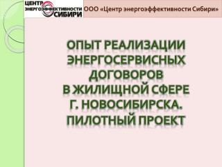 ООО «Центр энергоэффективности Сибири»