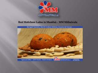 Best Motichoor Ladoo in Mumbai -  MM Mithaiwala