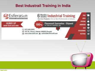 Best Industrial Training Courses