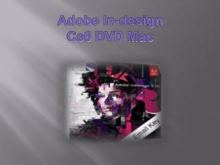 Adobe Indesign Cs6 Dvd Mac