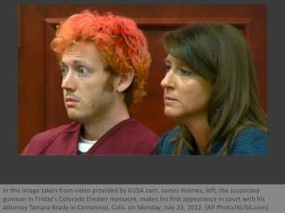 Colorado shooting suspect James Holmes