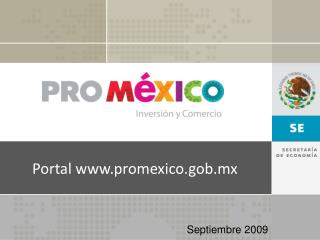 Portal promexico.gob.mx