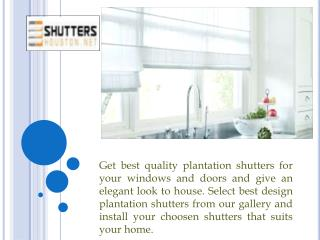 Good Looking Blinds And Shutters in Houston