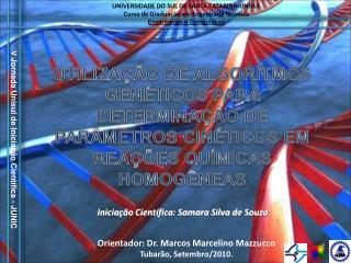 UNIVERSIDADE DO SUL DE SANTA CATARINA-UNISUL Curso de Graduação em Engenharia Química