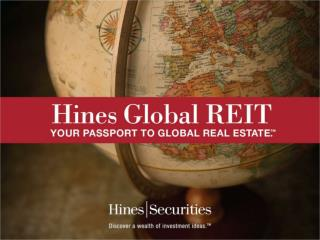Hines Global REIT