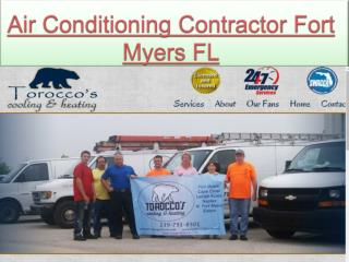 Air Conditioning Contractor Fort Myers FL