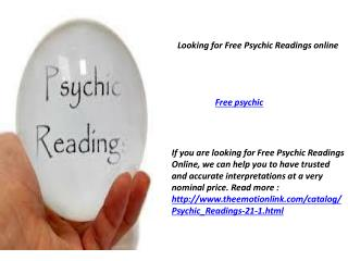 Affordable Psychic Readings Online NJ
