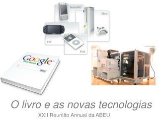 O livro e as novas tecnologias