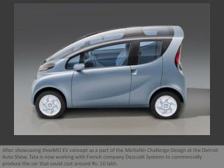 Tata to launch eMO Electric Car
