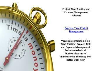 Expense Time Project | Best Expense Tracking Software
