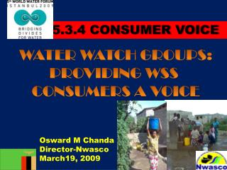 Osward M Chanda Director-Nwasco March19, 2009
