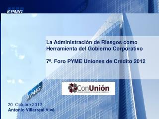 La Administración de Riesgos como Herramienta del Gobierno Corporativo