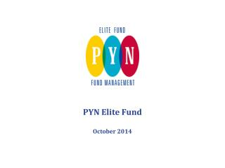 PYN Elite Fund October 2014