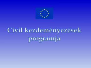 Civil kezdeményezések programja