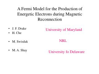A Fermi Model for the Production of Energetic Electrons during Magnetic Reconnection