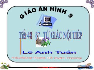 GIÁO ÁN HÌNH 9