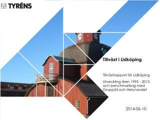 Tillväxt i Lidköping