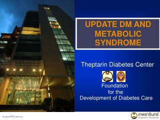 UPDATE DM AND METABOLIC SYNDROME
