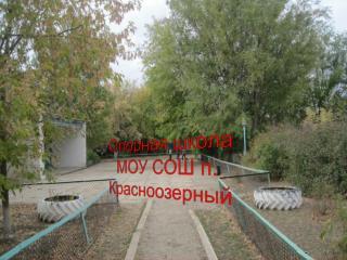 Опорная школа МОУ СОШ п. Красноозерный