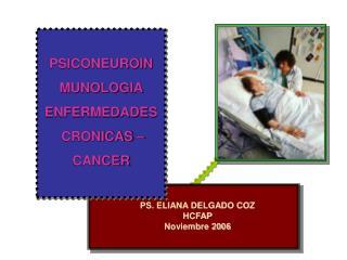 PS. ELIANA DELGADO COZ HCFAP Noviembre 2006