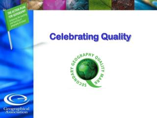 Celebrating Quality