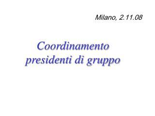 Milano, 2.11.08