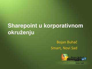 Sharepoint u korporativnom okru�enju