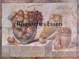 Römisches Essen